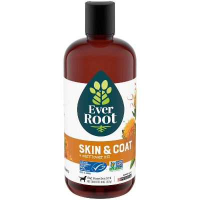 Purina EverRoot Skin & Coat Organic Supplement Oil for Dogs - 16oz