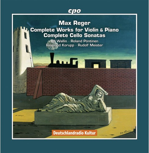 Ulf Wallin - Reger:Complete Works For Violin & Pia (CD) - image 1 of 1