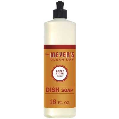 Mrs. Meyer's Clean Day Liquid Dish Soap - Apple Cider - 16oz