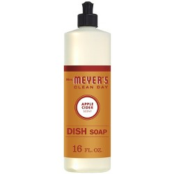 Mrs. Meyer's Apple Cider Dish Soap - 16oz