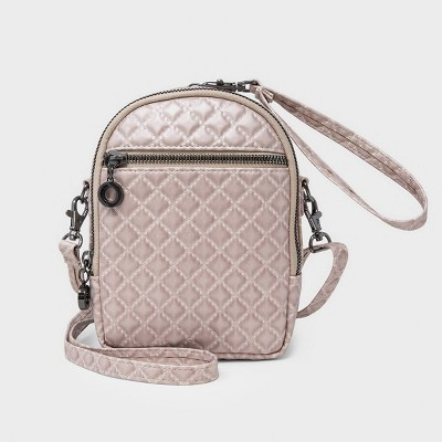 Stella & Max Convertible Crossbody Bag With Phone Charging Battery