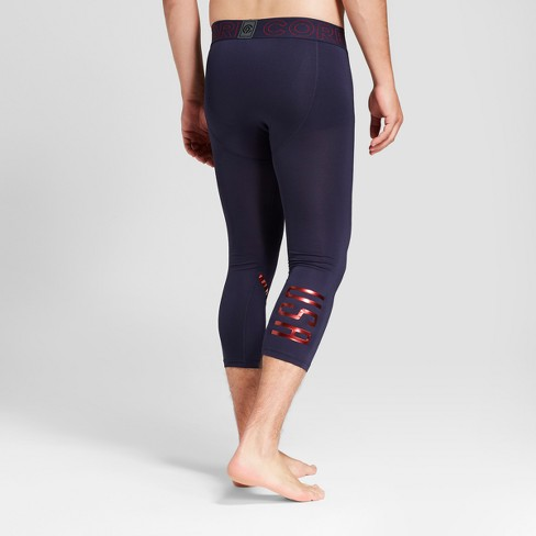 d7936c3500 Men's USA Cropped Compression Tight Leggings - C9 Champion® Navy : Target