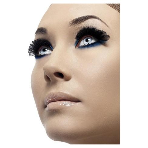 5b663355cf6 Adult Smiffy's Small Feather Costume Eyelashes Black : Target