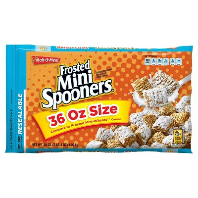 Breakfast Cereal: Frosted Mini Spooners