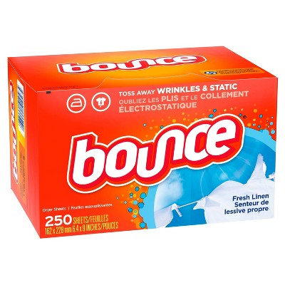 Bounce Fresh Linen Dryer Sheets - 250ct