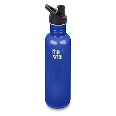 Klean Kanteen 27oz Classic Stainless Steel Water Bottle with Sport Cap