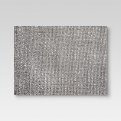 19 x14  Eva Woven Placemat Gray - Threshold™