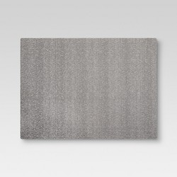 "19""x14"" Eva Woven Placemat Gray - Threshold™"