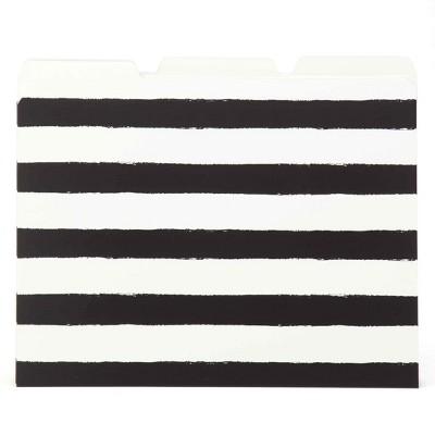 File Folders, 6ct, Black Stripes - Threshold™
