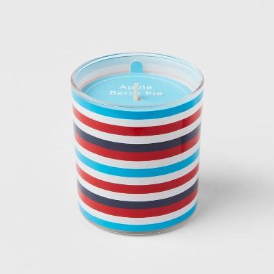 5.5oz Americana Glass Jar Apple Berry Pie Candle - Sun Squad™