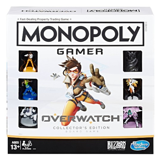 Monopoly Gamer Overwatch Collector's Edition Board Game image number null