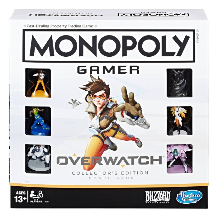Monopoly Gamer Overwatch Collector's Edition Board Game - image 1 of 9
