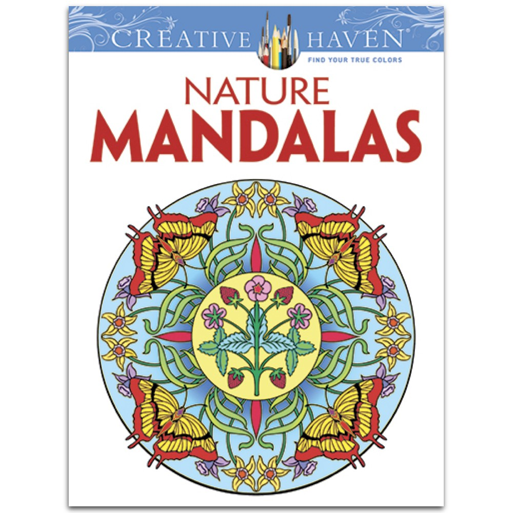 Creative Haven Nature Mandalas Paperback By Marty Noble
