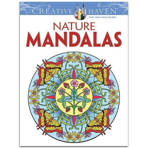 Creative Haven Nature Mandalas (Paperback) by Marty Noble - image 1 of 1