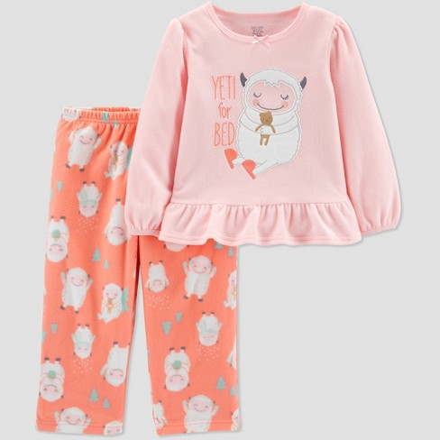 bc653db81 Baby Girls  Yeti 2pc Pajama Set - Just One You® Made By Carter s ...