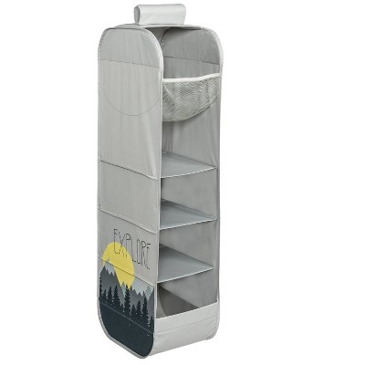 Honey-Can-Do Hanging Toy Organizer Gray