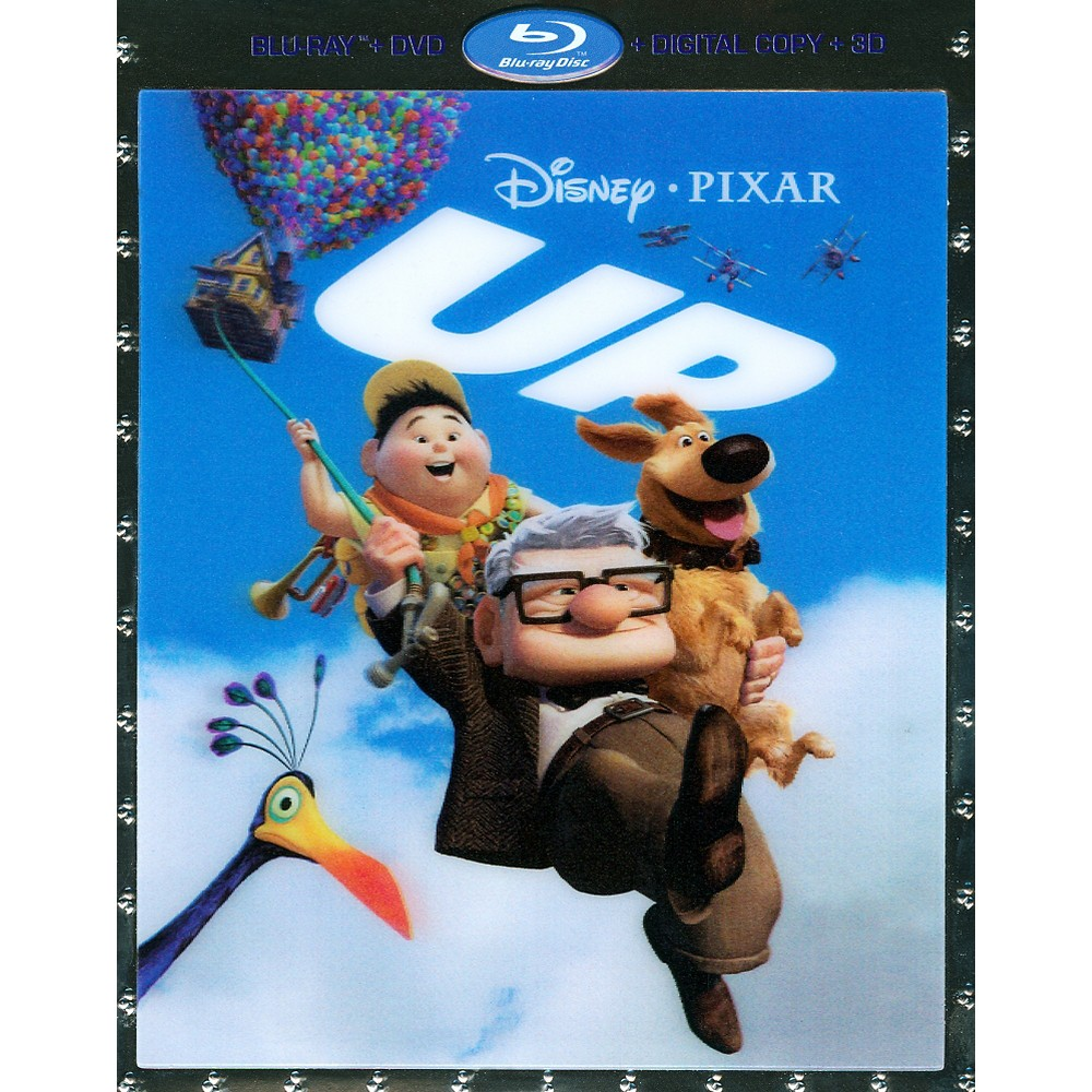 Up 3d (Blu-ray), Movies