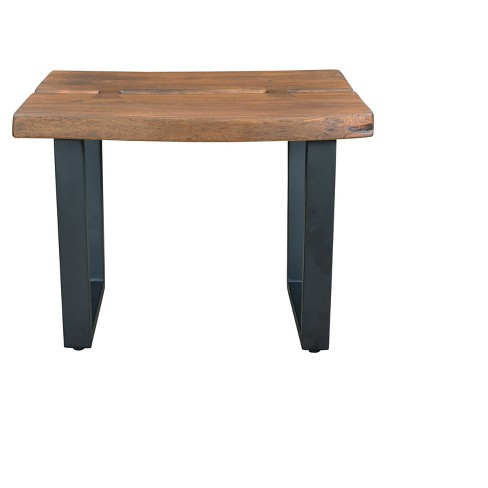 Sequoia Natural Live Edge End Table - Brown - Treasure Trove - image 1 of 5