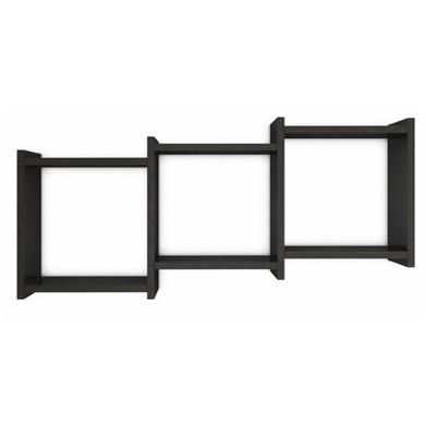"35.5"" x 16.3"" Connected Three Cube Wall Shelf - Danya B."
