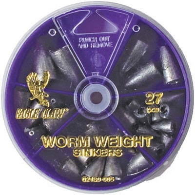 Eagle Claw Worm Weight Sinkers