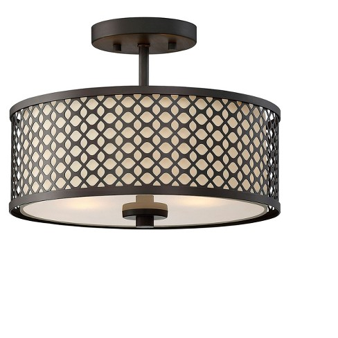 Ceiling Lights Semi Flush Mount Oil Rubbed Bronze Aurora Lighting