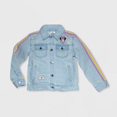 Girls' Disney Minnie Mouse Denim Jacket - Blue - Disney Store