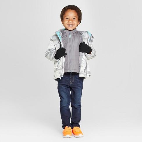b5a8dff00 Toddler Boys  Jacquard 3-in-1 Jacket - Cat   Jack™ Gray   Target