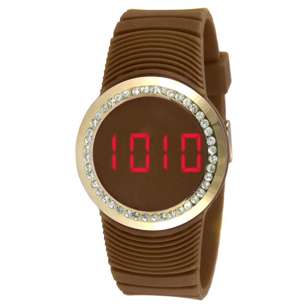Women's Tko Digital Touch Watch - Brown