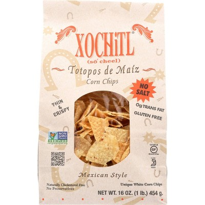 Xochitl Mexican Style Corn Chips - 16oz (Pack of 9)