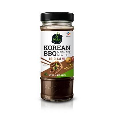 Bibigo Korean BBQ Marinade & Sauce Original - 16.9oz
