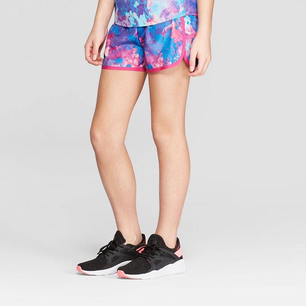 7a7ecb0dc24e34 Girls Run Shorts C9 Champion BluePink XS