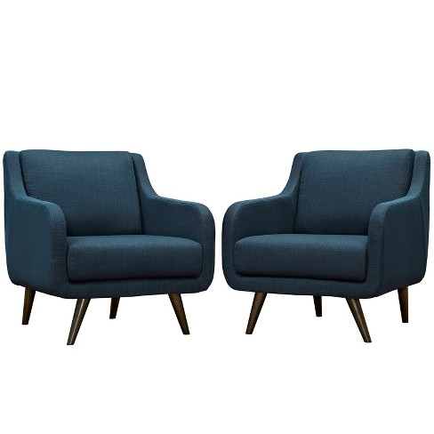 Set of 2 Verve Armchairs - Modway - image 1 of 5