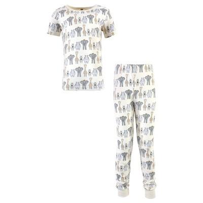 Hudson Baby Infant, Toddler and Kids Boy Cotton Pajama Set, Royal Safari