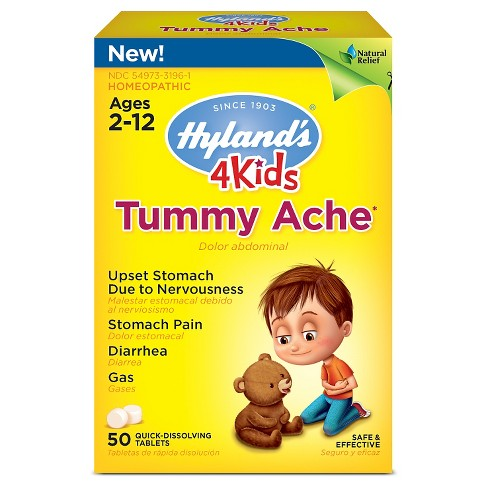 Hylands 4 Kids Tummy Ache Tablets - 50ct - image 1 of 1