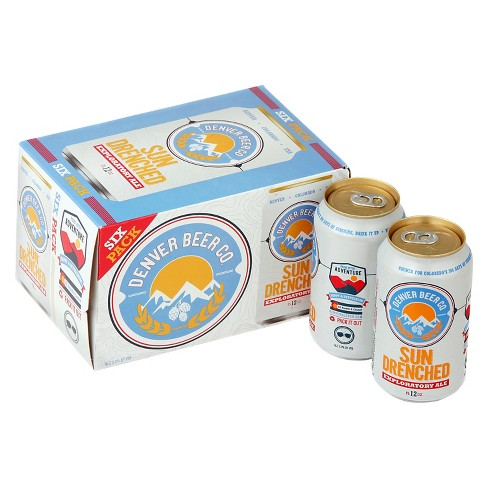 Denver Beer Co.® Sun Drenched Ale - 6pk / 12oz Cans - image 1 of 1