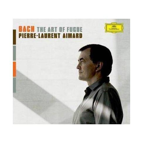 Pierre-Laurent  Johann Sebastian; Aimard Bach - Bach: The Art of Fugue (CD) - image 1 of 1