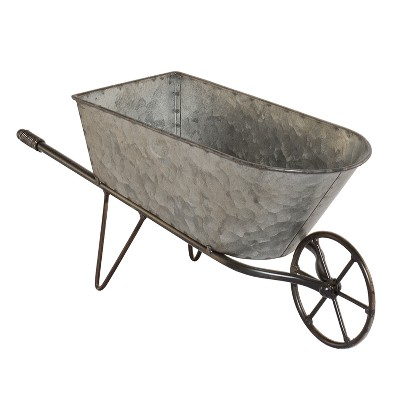 Metal Wheelbarrow Planter - VIP Home & Garden