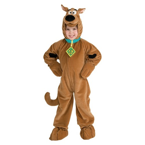 Halloween Toddler Boy Deluxe Scooby Doo Costume 2T-4T, Men's, Size: Small, Clear
