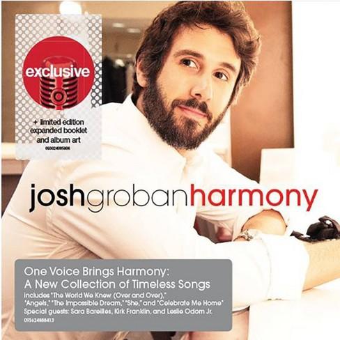 Josh Groban- Harmony (Target Exclusive, CD) - image 1 of 1