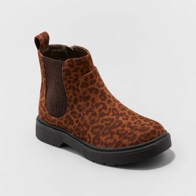 Girls' Zita Zipper Slip-On Chelsea Boots - Cat & Jack™