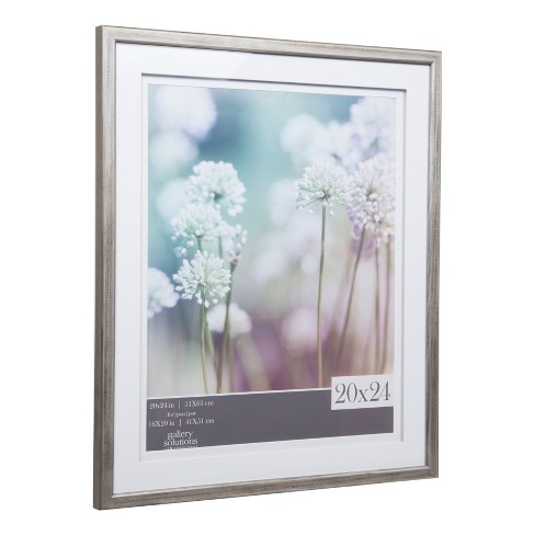 Single Image 20x24 Gray Frame With Double Mat To 16x20 Gallery