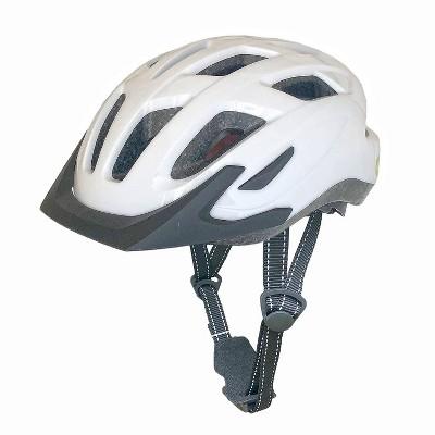 Cyclic Hybrid Bike Helmet - White