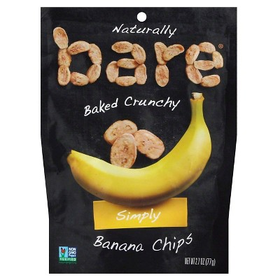 Dried Fruit & Raisins: Bare Banana Chips