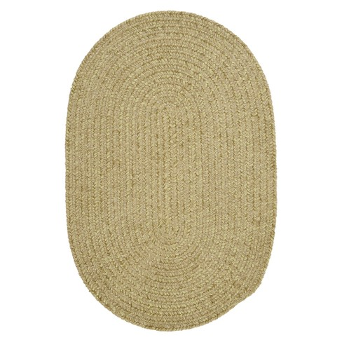 Forever Soft Solid Oval Chenille Rug - image 1 of 1