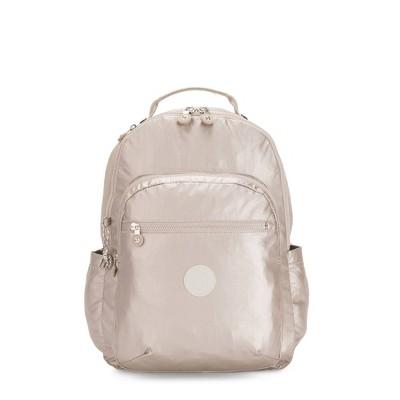 """Kipling Seoul Large Metallic 15"""" Laptop Backpack"""