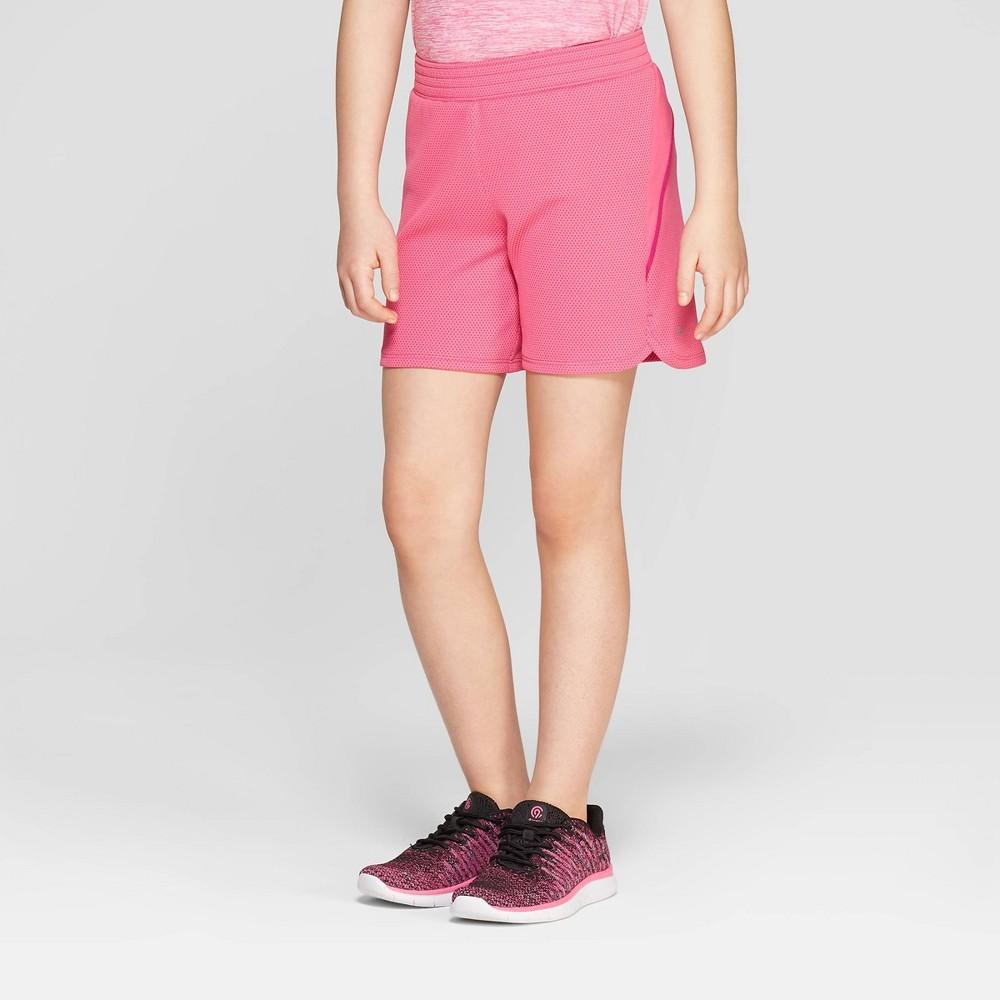 d0403b1f8c Girls 5 Gym Shorts C9 Champion Pink XL