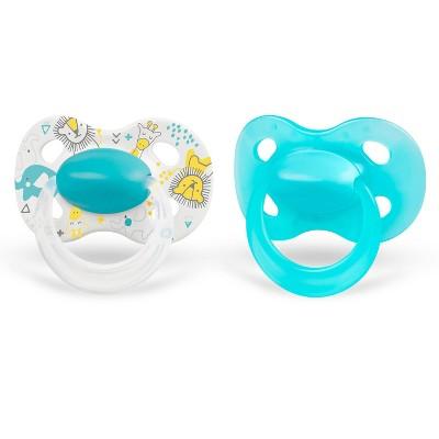 Medela Baby Original Pacifier - Blue 0-6 Months 2pk