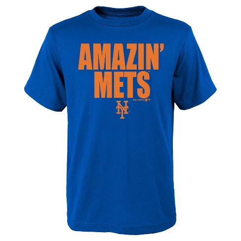New York Mets Boys' T-Shirt L - image 1 of 1