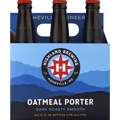 Highland Oatmeal Porter Beer - 6pk/12 fl oz Bottles