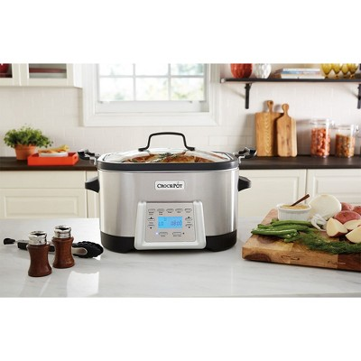 Crock-Pot® 5-in-1 Multi-Cooker - Stainless Steel SCCPMC600-S